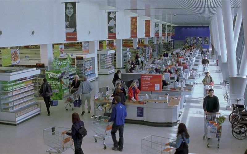 Sainsbury's Supermarket in About a Boy (1)