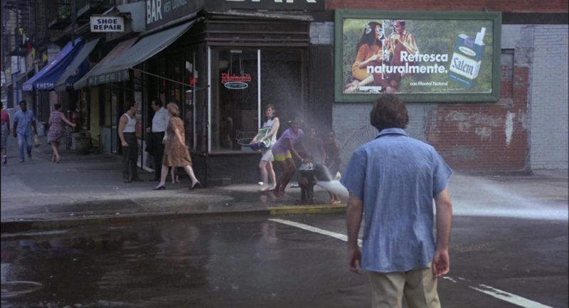 Salem Cigarettes Billboard in Serpico (1973) Movie Product Placement