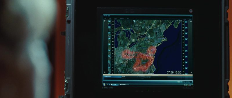 Samsung Computer Monitor in The Day the Earth Stood Still (2008) - Movie Product Placement