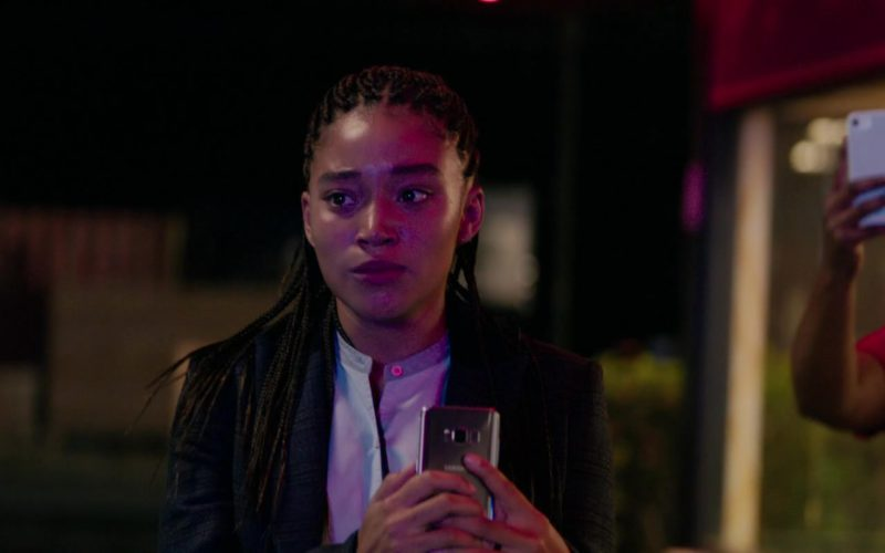 Samsung Galaxy Android Smartphone Used by Amandla Stenberg in The Hate U Give (1)