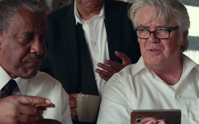 Samsung Galaxy Smartphone Used by Michael Harney in A Star Is Born