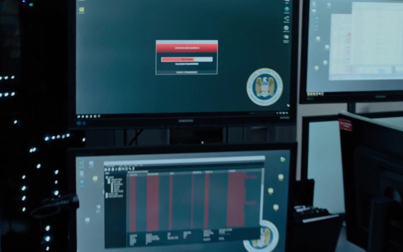 Samsung Monitors in The Girl in the Spider's Web (1)