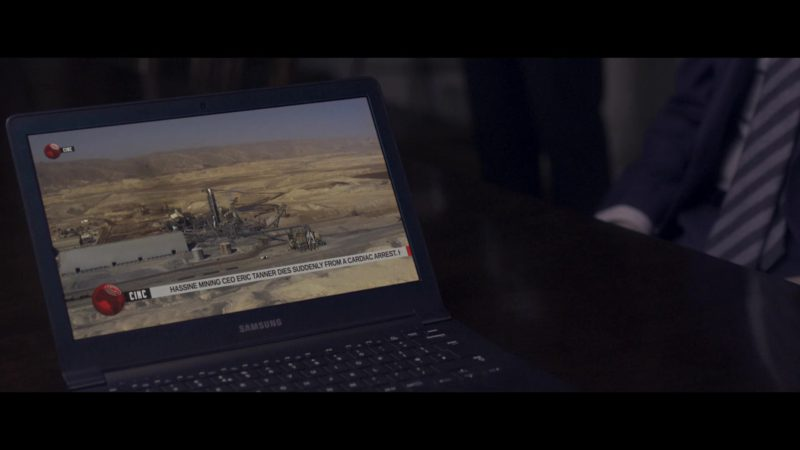 Samsung Notebook in Close (2019) Movie Product Placement
