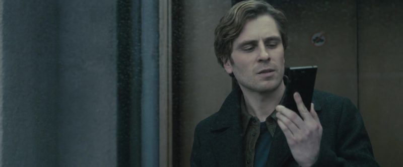 Sony Xperia Smartphone Used by Sverrir Gudnason in The Girl in the Spider's Web (2018) - Movie Product Placement