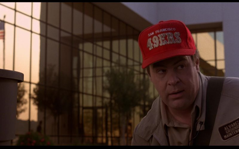 San Francisco 49ers Cap Worn by Dan Aykroyd in Sneakers (1)