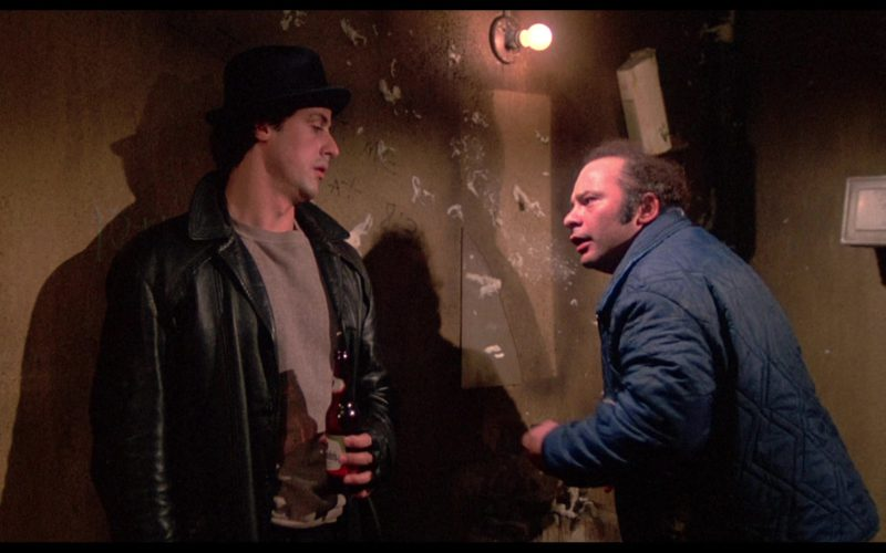 Schmidt's Beer Drunk by Sylvester Stallone (Rocky Balboa) in Rocky (1)