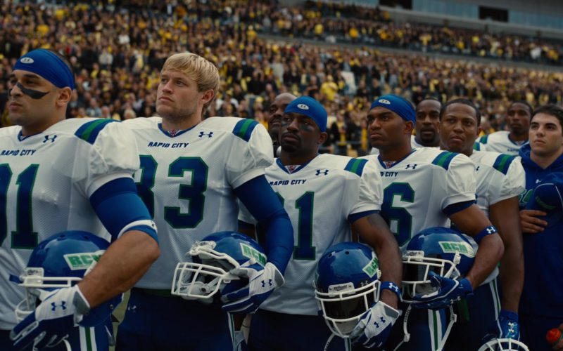 Schutt Helmets and Under Armour Jerseys and Hats in The Dark Knight Rises (1)