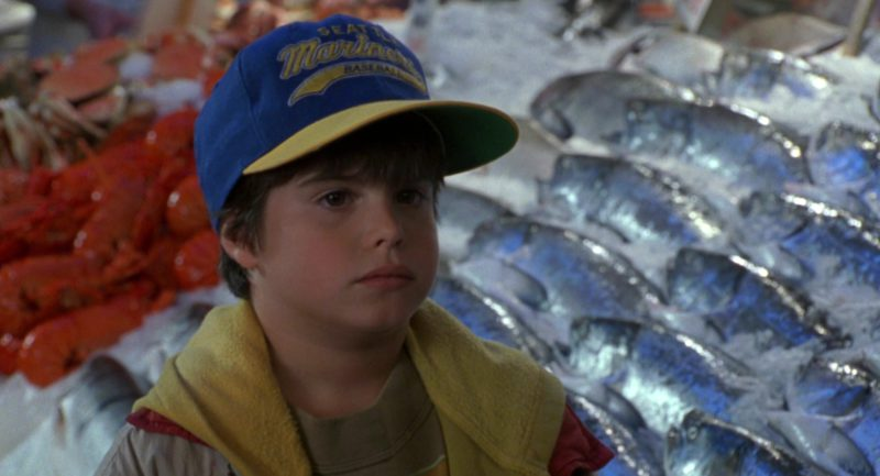 Seattle Mariners Baseball Team Cap Worn by Ross Malinger in Sleepless in Seattle (1993) - Movie Product Placement