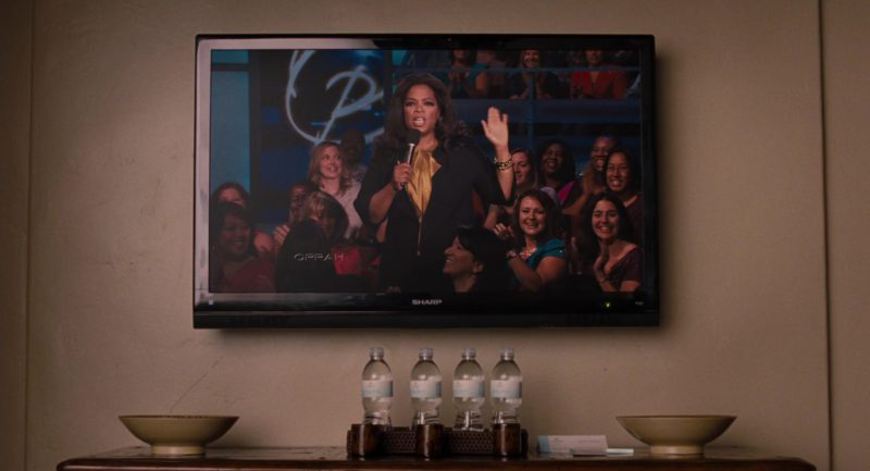 Sharp TV and The Oprah Winfrey Show in It's Complicated (2009) Movie Product Placement