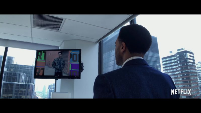 Sharp TV in High Flying Bird (2019) - Movie Product Placement