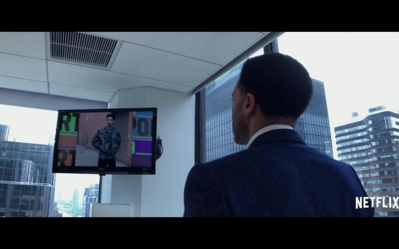 Sharp TV in High Flying Bird