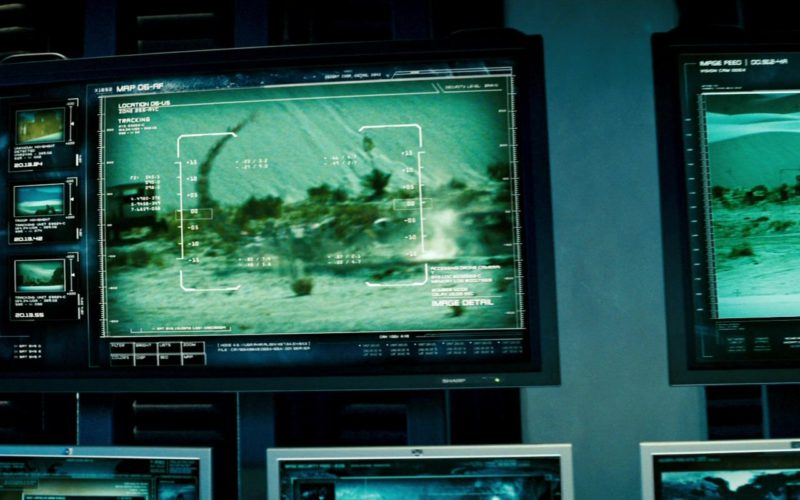 Sharp TV in Transformers
