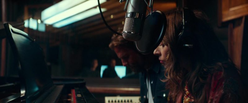 Shure Headphones Used by Lady Gaga in A Star Is Born (2018) Movie Product Placement