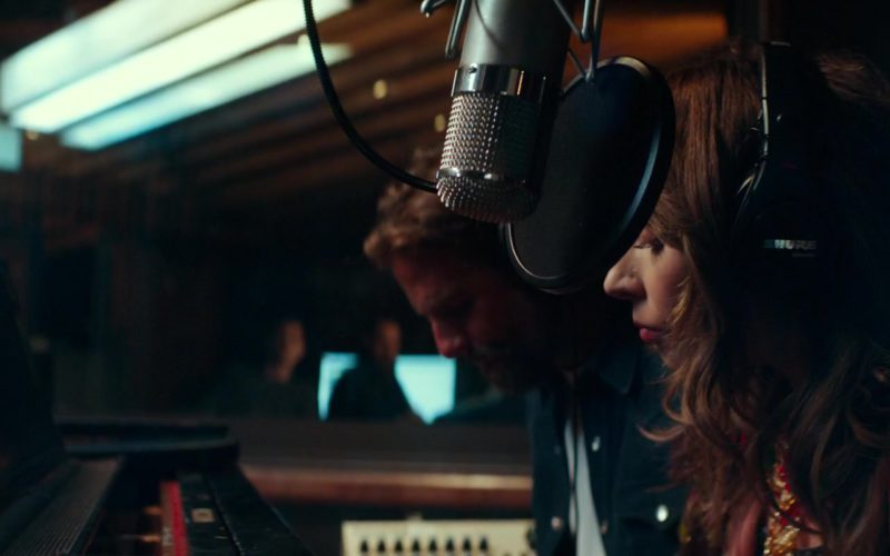 Shure Headphones Used by Lady Gaga in A Star Is Born