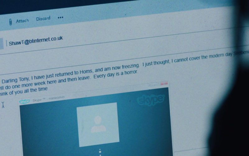 Skype in A Private War