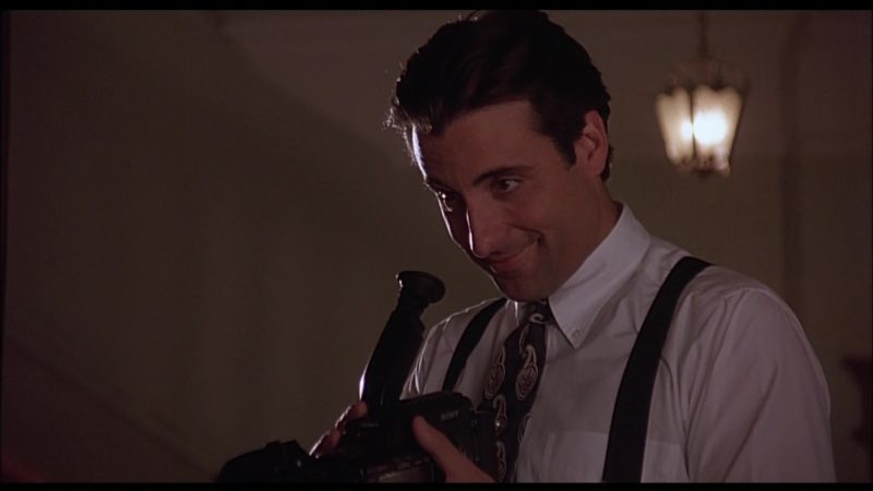 Sony Camcorder Used by Andy García in When a Man Loves a Woman (1994) Movie Product Placement