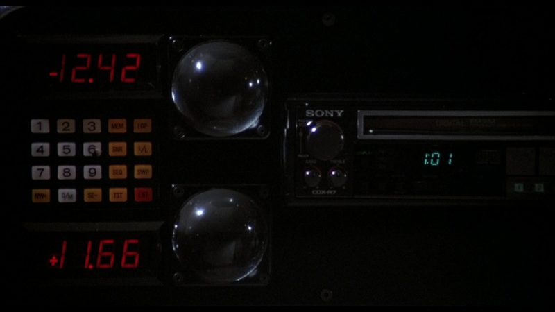 Sony Car Audio in Rocky 4 (1985) - Movie Product Placement