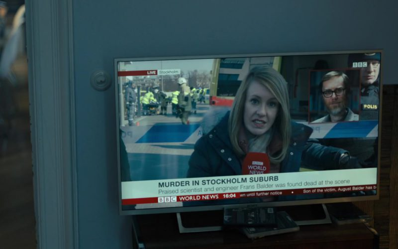 Sony TV and BBC TV Channel in The Girl in the Spider's Web (2)