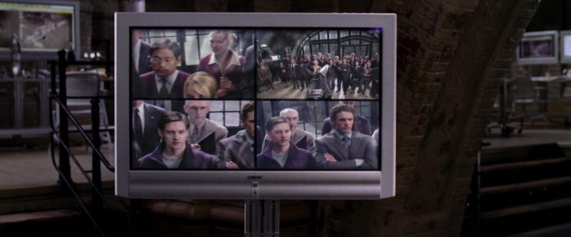 Sony TV in Spider-Man 2 (2004) - Movie Product Placement