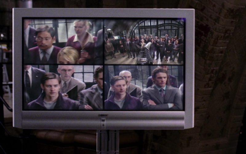 Sony TV in Spider-Man 2