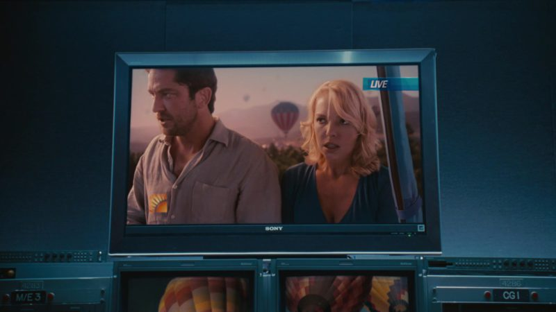 Sony TVs in The Ugly Truth (2009) - Movie Product Placement