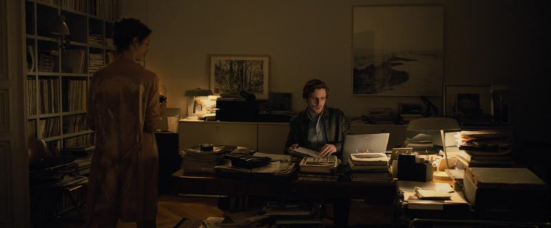 Sony Vaio Laptop Used by Sverrir Gudnason in The Girl in the Spider's Web (2018) - Movie Product Placement