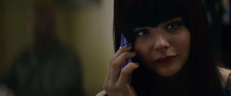 Sony Xperia Cell Phone Used by Chloë Grace Moretz in The Equalizer (2014) Movie Product Placement