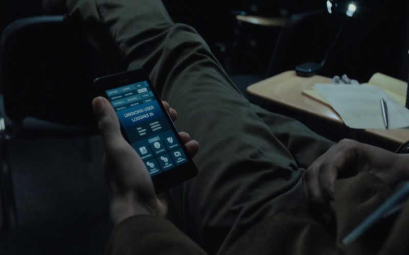 Sony Xperia Smartphone Used by Lakeith Stanfield in The Girl in the Spider's Web (1)