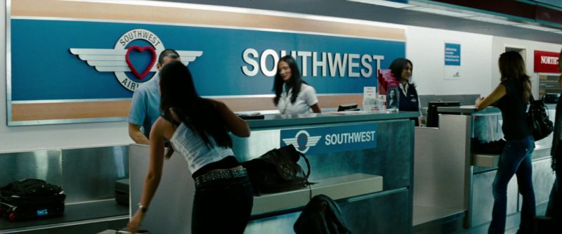 Southwest Airlines in Transformers: Revenge of the Fallen (2009) - Movie Product Placement