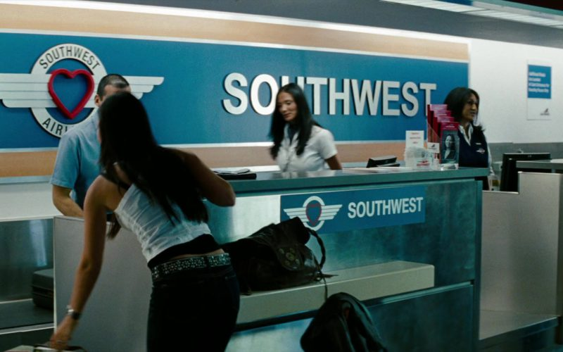 Southwest Airlines in Transformers (1)
