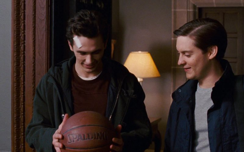 Spalding Basketball Held by James Franco in Spider-Man 3 (2)