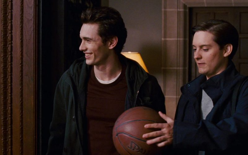 Spalding Basketball Held by Tobey Maguire in Spider-Man 3 (1)