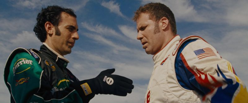 Sparco Gloves Worn by Sacha Baron Cohen in Talladega Nights: The Ballad of Ricky Bobby (2006) - Movie Product Placement