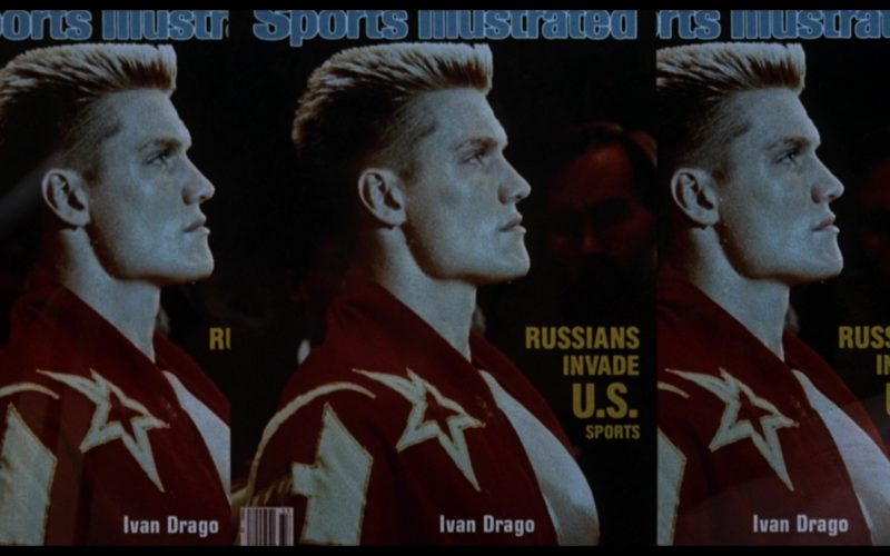 Sports Illustrated Magazine in Rocky 4