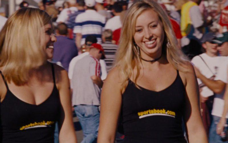 Sportsbook.com T-Shirts Worn by Girls in Talladega Nights