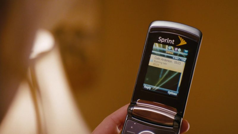 Sprint Cell Phone Used by Katherine Heigl in The Ugly Truth (2009) - Movie Product Placement