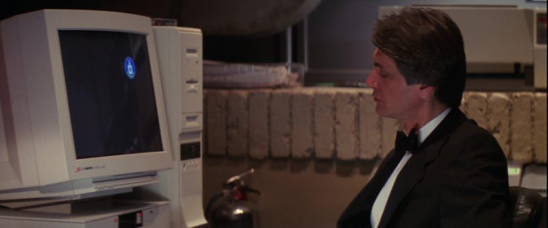 SuperMatch Computer Monitor by SuperMac in Mission: Impossible (1996) - Movie Product Placement