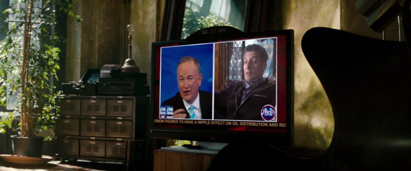 TCL TV, Cisco Umi, The O'Reilly Factor American Television Show in Transformers: Dark of the Moon (2011) - Movie Product Placement