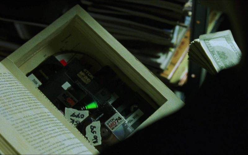 TDK Floppy Disks in The Matrix
