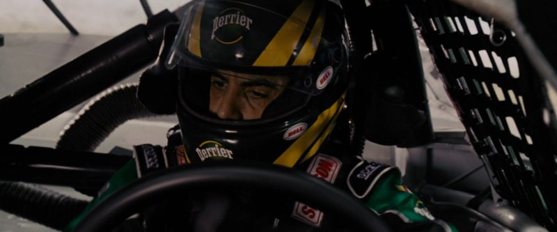 Sparco Gloves, Perrier, Simpson and Bell Helmet Worn by Sacha Baron Cohen in Talladega Nights: The Ballad of Ricky Bobby (2006) - Movie Product Placement