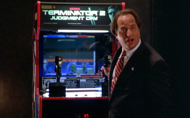 Terminator 2 Judgment Day Arcade Game Machine by Midway in North (1)