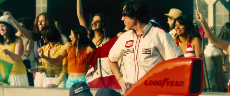 Texaco, Goodyear, Champion and Goodyear in Rush (2013) - Movie Product Placement