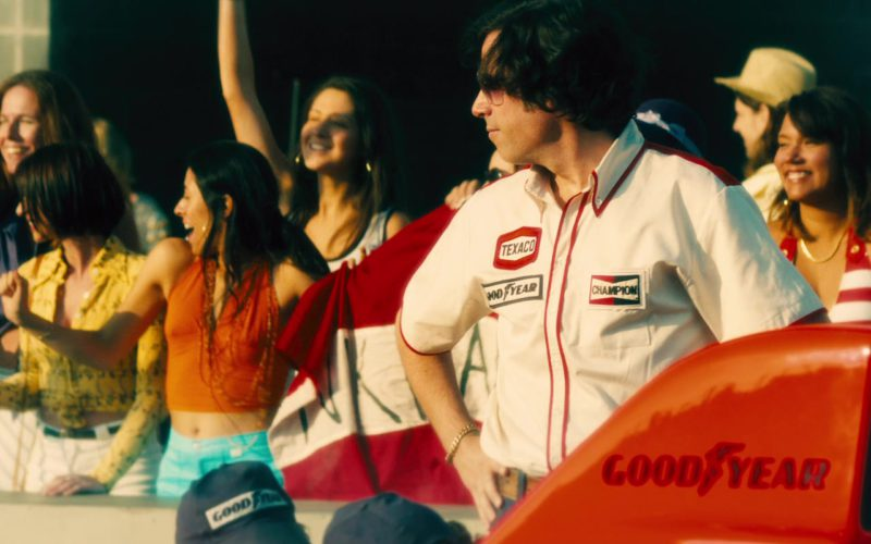 Texaco, Goodyear, Champion and Goodyear in Rush