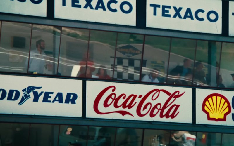Texaco, Goodyear, Coca-Cola, Shell in Rush