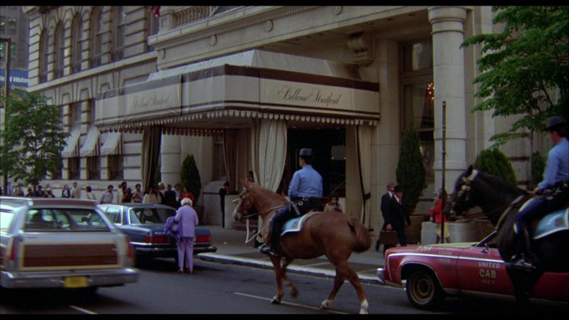 The Bellevue-Stratford Hotel in Rocky 3 (1982) - Movie Product Placement