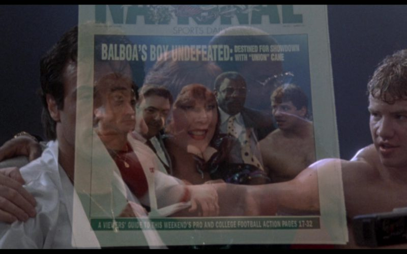 The National Sports Daily Newspaper in Rocky 5