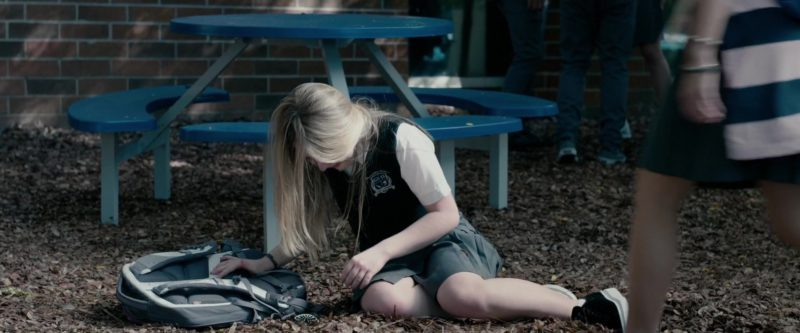The North Face Backpack Used by Sabrina Carpenter in The Hate U Give (2018) Movie Product Placement