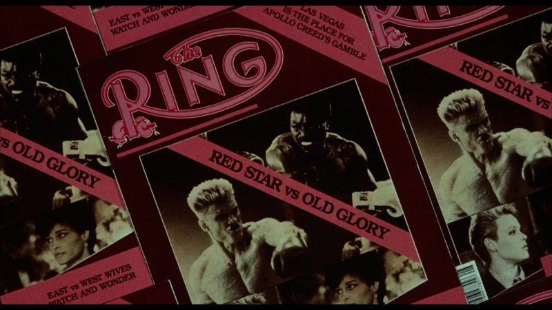 The Ring Magazine in Rocky 4 (1985) - Movie Product Placement