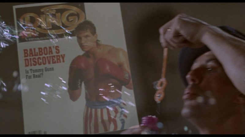 The Ring Magazine in Rocky 5 (1990) - Movie Product Placement