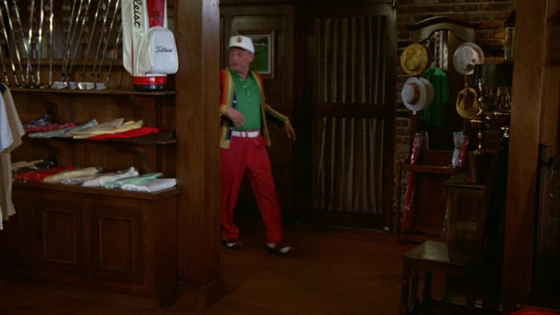 Titleist Golf Bag in Caddyshack (1980) Movie Product Placement